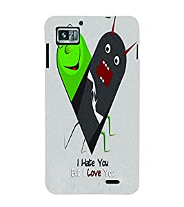 PrintVisa Romantic Love cute Couple 3D Hard Polycarbonate Designer Back Case Cover for Lenovo K860