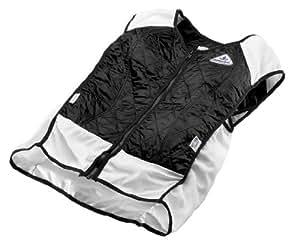 TechKewl Hybrid Cooling Vest, Black, X-Small