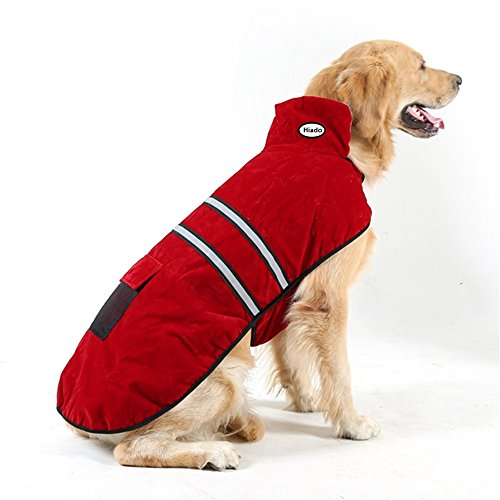 Hiado Dog Pets Winter Coat Vest Dressing with Reflective Belt for Hiking and Hunting in Cold Weather (Xxl, Extra Large, 32 Inches Back Size) (Dog Insulated Vest compare prices)