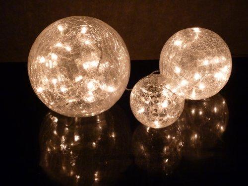 Stimmungsvolle-Glas-Kugelleuchte-Fiona-Kugellampe-3x-Weihnachts-Dekoration-Durchmesser-101520cm-mit-LED-Lichterkette-60-flammig-Dekorationsleuchte-Tischleuchte