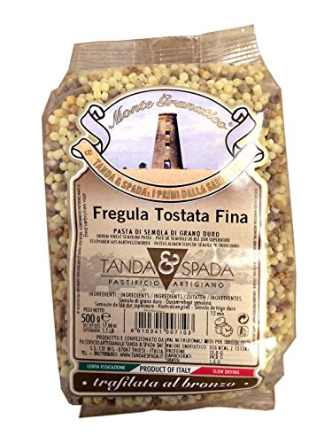 Fregula Tostata Fina, 17.66 Ounce