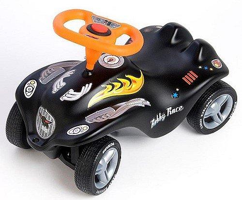 big new bobby car black racer f1 mit fulda breitreifen und. Black Bedroom Furniture Sets. Home Design Ideas