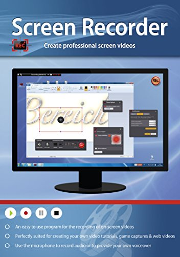 Screen Recorder - Create Professional Videos for Video Tutorials, Game Captures & Web Videos (Video Capture Program compare prices)