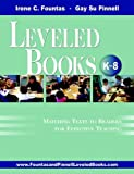 img - for The Fountas & Pinnell Leveled Book List, K-8+: 2010-2012 Edition, Print Version unknown Edition by Fountas, Irene, Pinnell, Gay Su (2009) book / textbook / text book