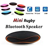 IPod Touch COMPATIBLE MINI Bluetooth Multimedia Speaker System With FM / Pen Drive / SD Card - Rugby Mini X6