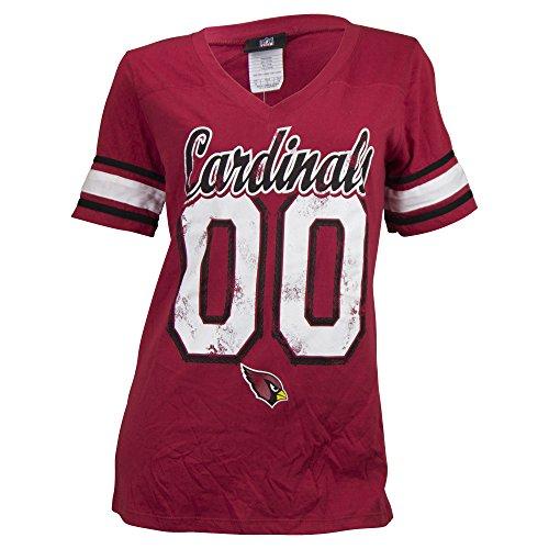 s nfl vintage jersey look t shirt arizona cardinals