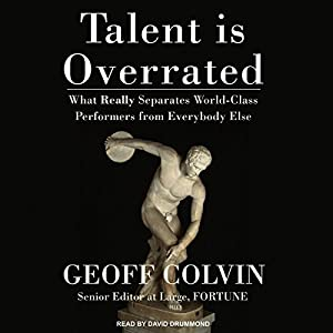 Talent Is Overrated Audiobook