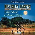 Heller Mond in schwarzer Nacht | Beverley Harper