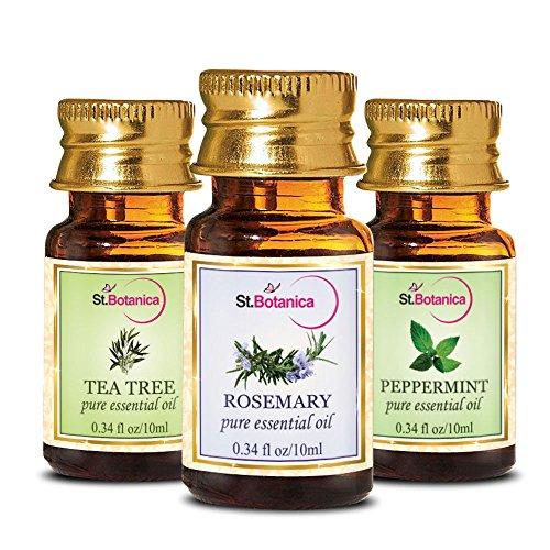 StBotanica St.Botanica Tea Tree Oil + Rosemary + Peppermint Pure Essential Oil