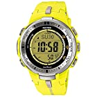 Casio Men's PRW-3000-9BDR Pro Trek Digital Display Quartz Yellow Watch