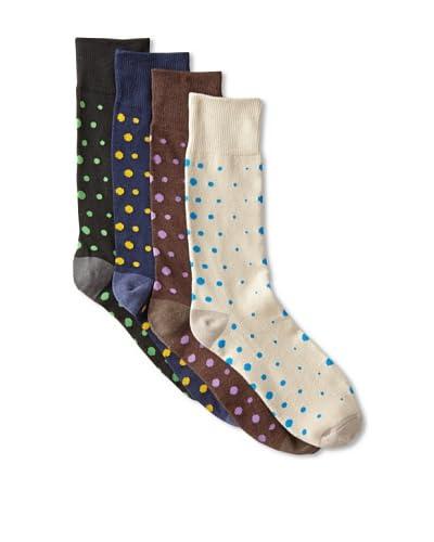 Florsheim Men's Casual Socks (4 Pairs)