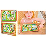 New Dinner Winner Tray Child Game Lunch Plate Divided Food Snack Fred Friends
