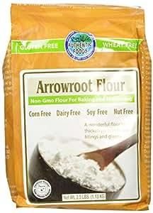 Amazon.com : Authentic Foods Arrowroot Flour, 2.5 lbs