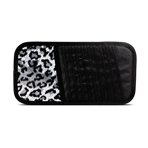 mAuto 0032 Car Visor Organizer, High Quality Visor Organizer - Grey Leopard (Grey Car Organizer compare prices)