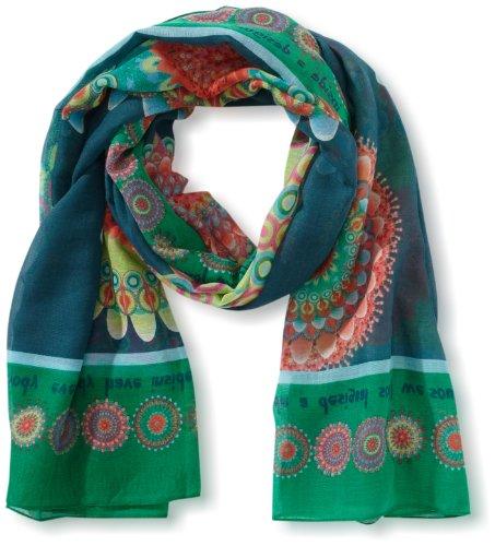 Desigual - smabo - foulard - femme - vert (balneario) - taille unique d0e28508b6c
