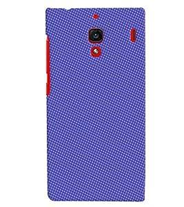 PrintVisa Corporate Print & Pattern Blue Dots 3D Hard Polycarbonate Designer Back Case Cover for Xiaomi Redmi 1S