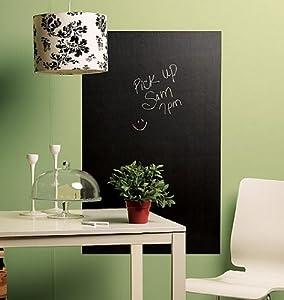 Wallies Peel and Stick Chalkboard Mural, Big