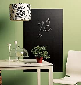 Wallies Peel and Stick Chalkboard Mural, Big