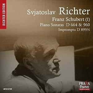 Schubert : Sonates D.664 & D.960, Impromptu D.899 / n°4