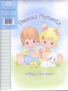 "Precious Moments Baby Memory Book ""Of Baby's First Years"""