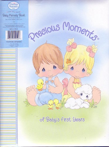 Precious moments baby memory book quot of baby s first years quot