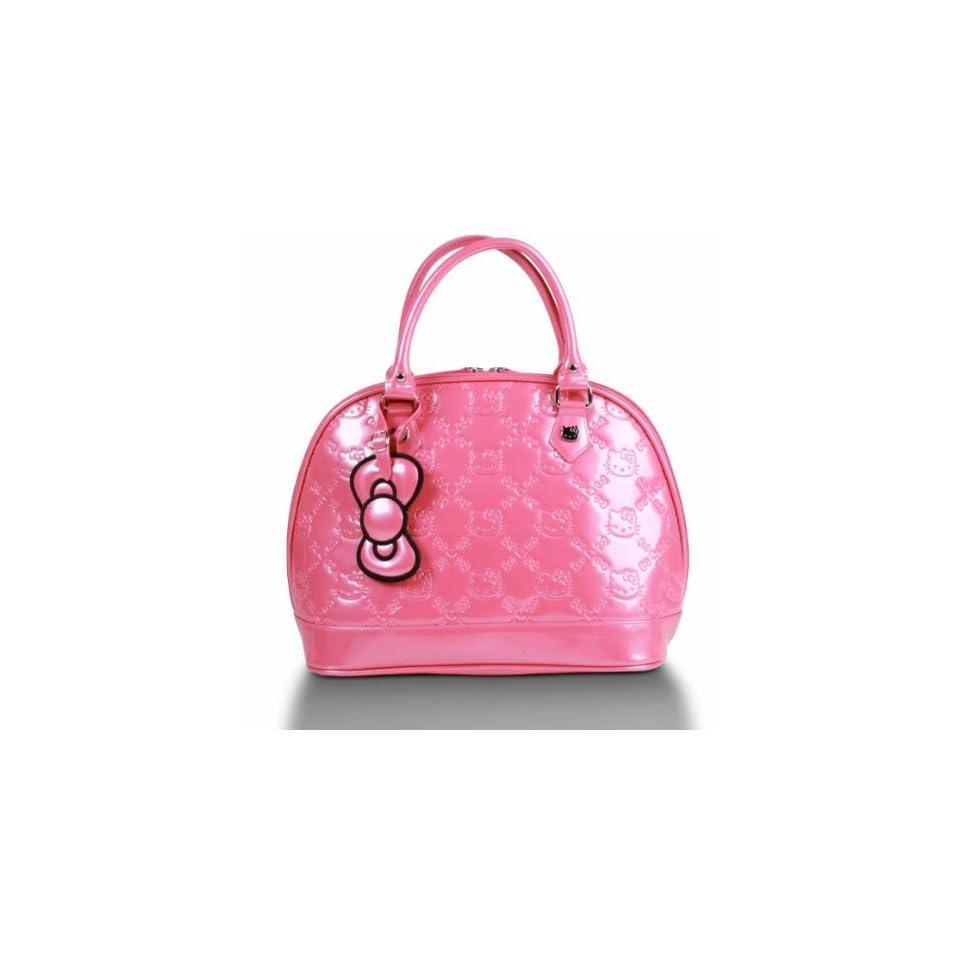 Pink Hello Kitty Embossed Handbag Shoes