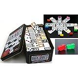 Domino MEXICAN TRAIN SET Doppel 12, das Trend - Spiel von Ludomax