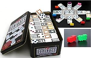 Domino MEXICAN TRAIN SET Doppel 12, das Trend - Spiel aus Amerika von Ludomax