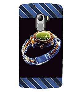 ColourCraft Beautiful Watch Design Back Case Cover for LENOVO VIBE K4 NOTE