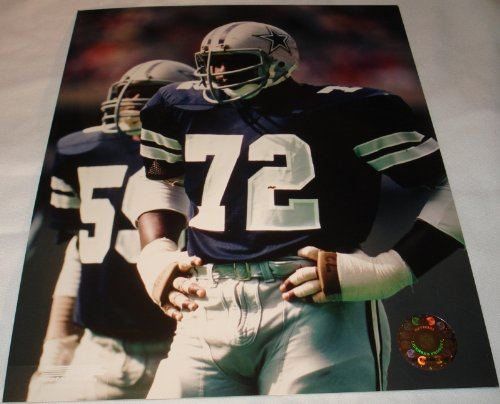 "Ed ""Too Tall"" Jones Dallas Cowboys Blue Jersey 8 x 10 Photo at Amazon.com"