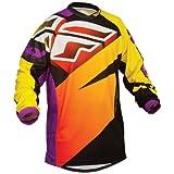 367-928YS - Fly Racing 2014 Youth F-16 LTD Motocross Jersey S Purple/Yellow/Black