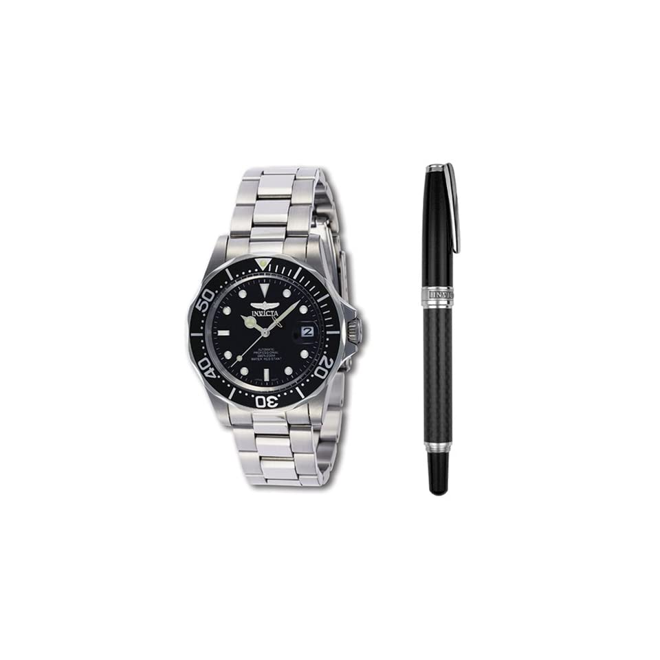 Invicta Pro Diver Collection Watch and Pen Set Watches