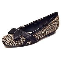 DICI ディッシー dici 靴リボンモチーフ スクエアトゥ ウエッジヒール パンプス ブラックエナメル 22.5cm ◆カラー:ブラックエナメル、アイボリー ◆素材:BLE,
