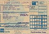 KEANU REEVES signed credit card receipt