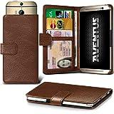 Aventus (Brown) HTC Desire 620G Dual Sim Premium-PU-Leder
