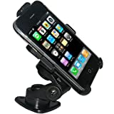 Amzer 3M Adhesive Dash or Console Mount for iPhone, iPhone 3G, iPhone 3G S (Black)