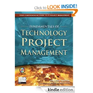 Fundamentals of Technology Project Management Colleen Garton and Erika McCulloch