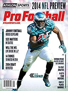 2014 Athlon Sports NFL Pro Football Magazine Preview- Philadelphia Eagles Cover
