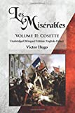 Image of Les Misérables, Volume II: Cosette: Unabridged Bilingual Edition: English-French (Volume 2)