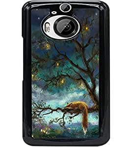 ColourCraft Beautiful Tree Design Back Case Cover for HTC ONE M9 PLUS