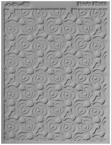 Lisa Pavelka 527106 Texture Stamp Hearts Aflame