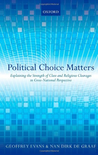 Political Choice Matters: Explaining the Strength of Class and Religious Cleavages in Cross-National Perspective PDF