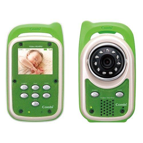 コンビ 防水 ビデオモニター グリーン