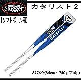 Louisville Slugger(ルイスビルスラッガー) バット カタリストII ソフトボール用 (革・ゴム3号) 反発基準対応モデル WTLJFP16A 84cm/740g平均