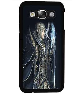 PRINTSWAG ANGEL GIRL Designer Back Cover Case for SAMSUNG GALAXY E5