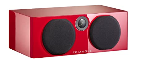 Triangle Color Voce Enceinte centrale 50 W Rouge Brillant