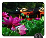 LOTUS GARDEN Mouse Pad, Mousepad (Flowers Mouse Pad)