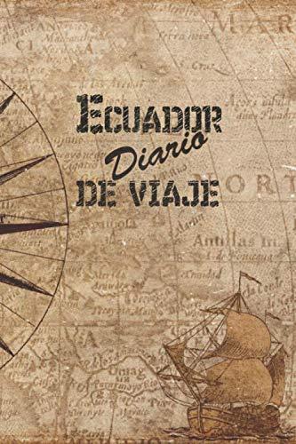 Ecuador Diario De Viaje 6x9 Diario de viaje I Libreta para listas de tareas I Regalo perfecto para tus vacaciones en Ecuador  [Publicación, Ecuador] (Tapa Blanda)