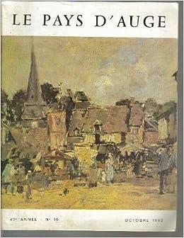 Le pays d 39 auge 42e ann e n 10 octobre 1992 collectif books - Le journal le pays d auge ...