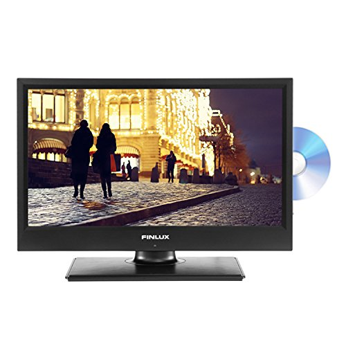 Finlux 19-Inch HD Ready LED TV with Multi Region DVD Combi and Freeview